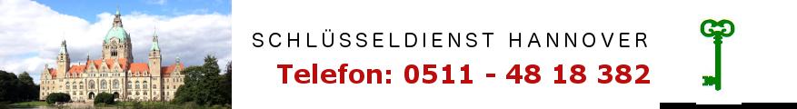 Schlüsselnotdienst Herrenhausen Telefon 0511 48 18 382